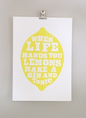 Naifandtastic:Decoración, craft, hecho a mano, restauracion muebles, casas pequeñas, boda: Cuando la vida te da limones....