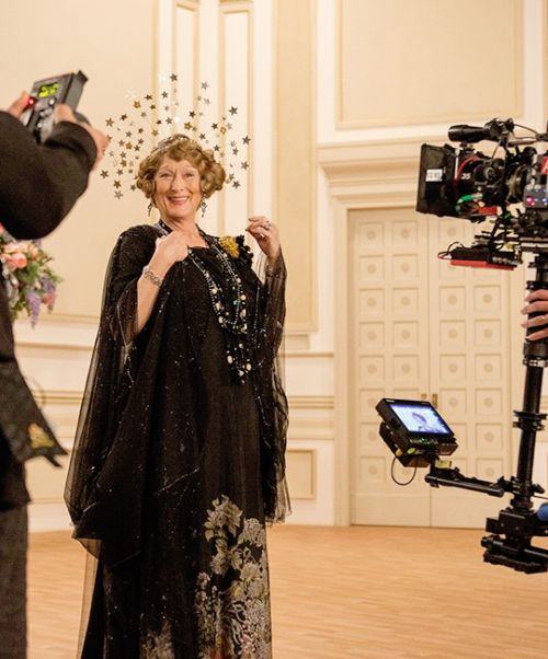 On the set of 'Florence Foster Jenkins' (2016)