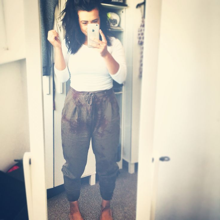 Casual summer outfit - Tshirt ; primark . Trousers ; H&M