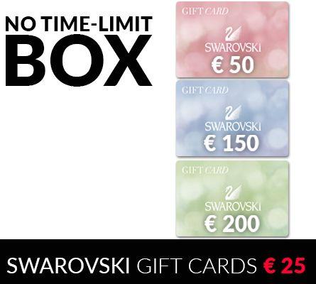 Swarovski Gift Cards - Buy it for € 25 or get 100%Cashback