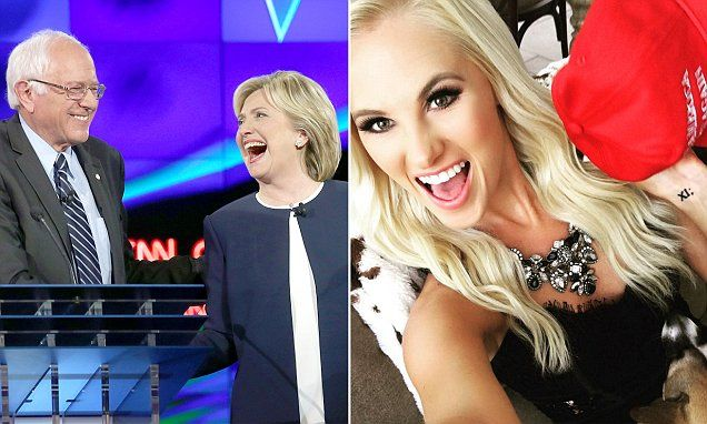 Tomi Lauren suggests Clintons have been involved in multiple murders #Daily Mail