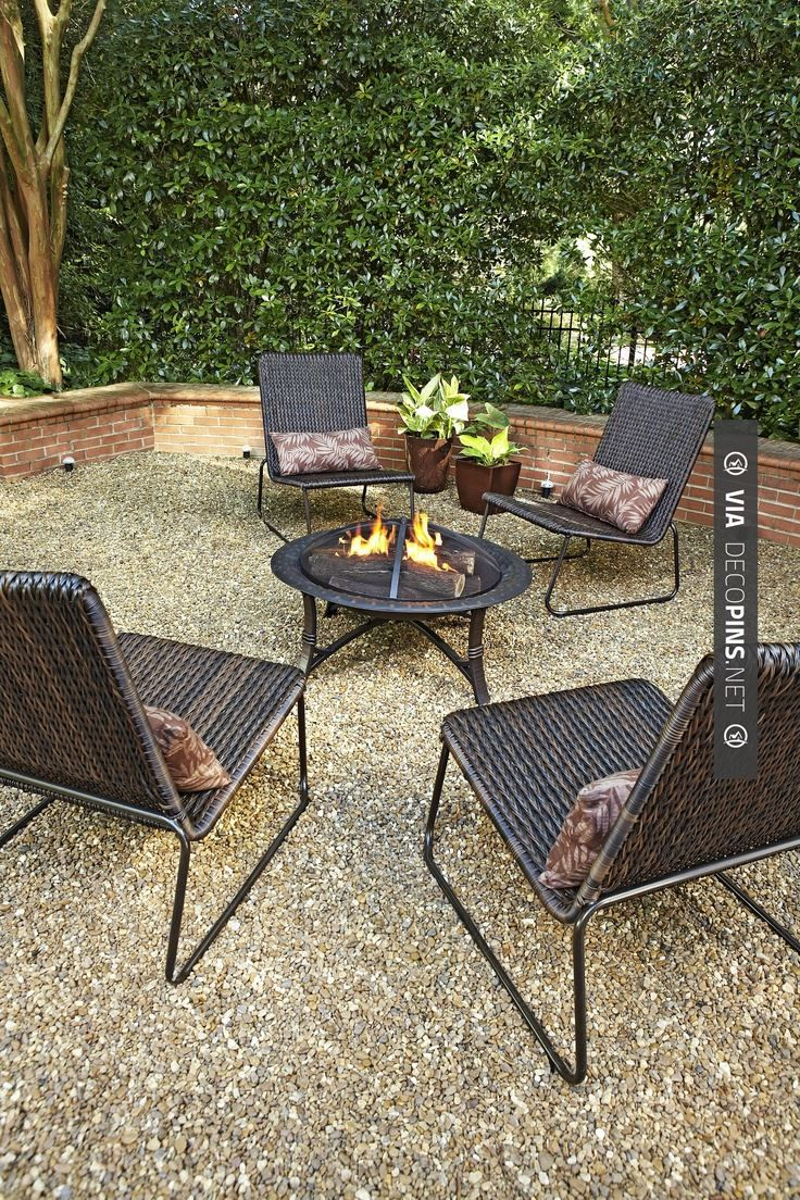 66 best Gravel Patios images on Pinterest | Backyard ideas ... on Patio And Gravel Ideas id=46400