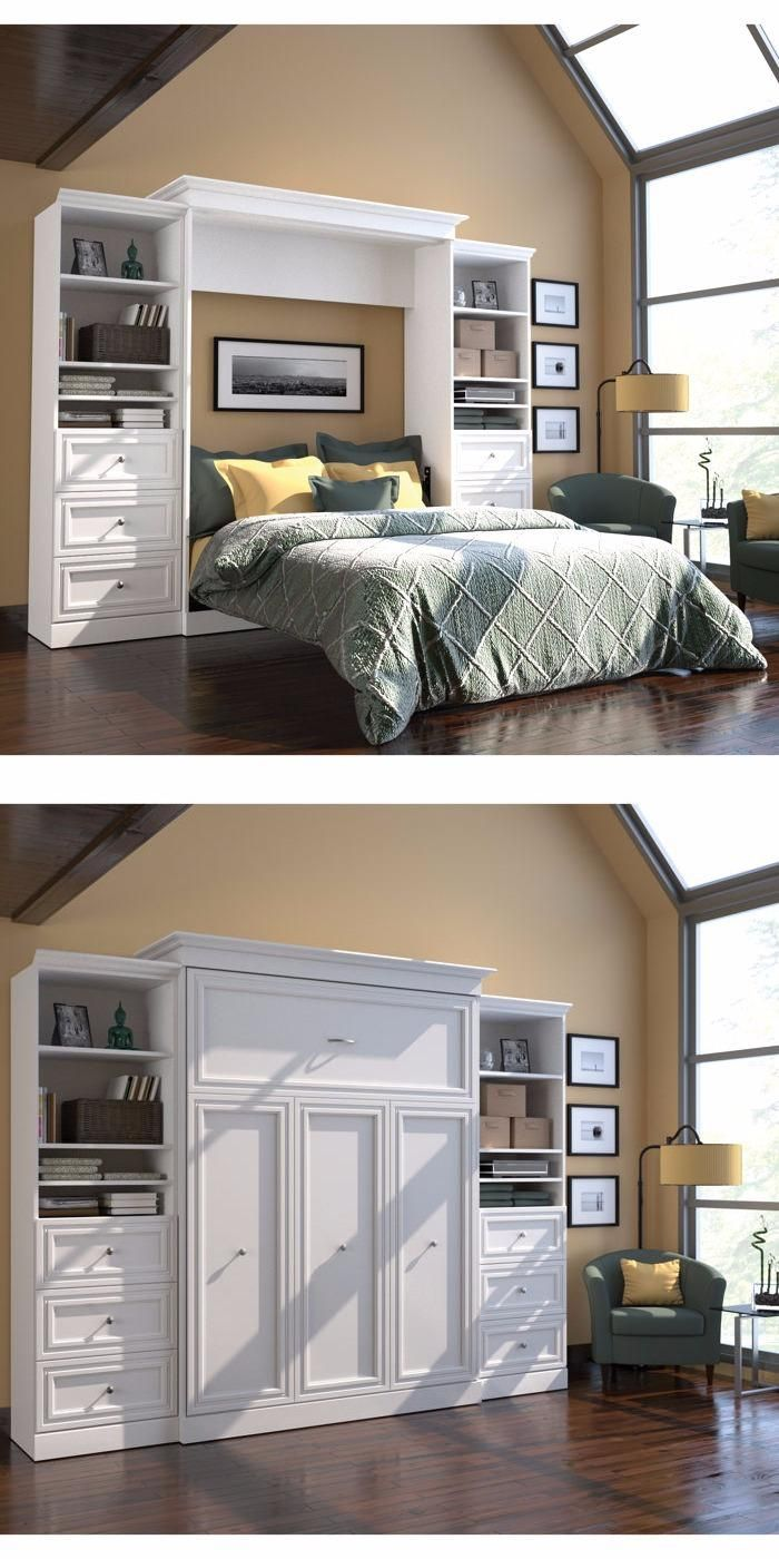 Audrea Queen Wall Bed By Bestar Allows You To Make The
