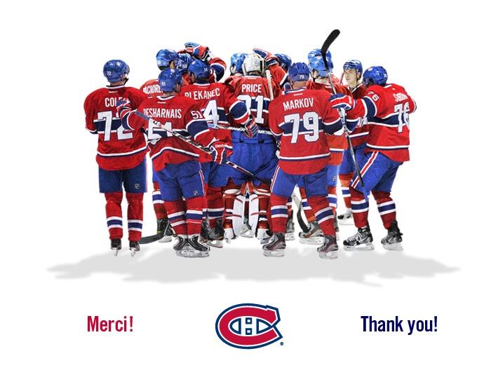 Canadiens de Montréal (husbands favourite team)