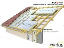 Détail isolation toitures par l'extérieurs le sarking
