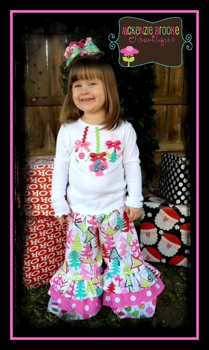 Christmas Outfit idea for little girl.