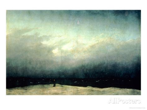 Monk by Sea, 1809 Giclee Print by Caspar David Friedrich at AllPosters.com
