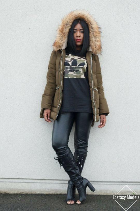 The Return Of The Puffa Jacket Puffa Jacket – Zara , Trousers – Mango (similiar) , Boots – Topshop (similiar) , T-Shirt – Adidas UK (purchased from Footlocker) Photography – Vinn Fashion Look by...