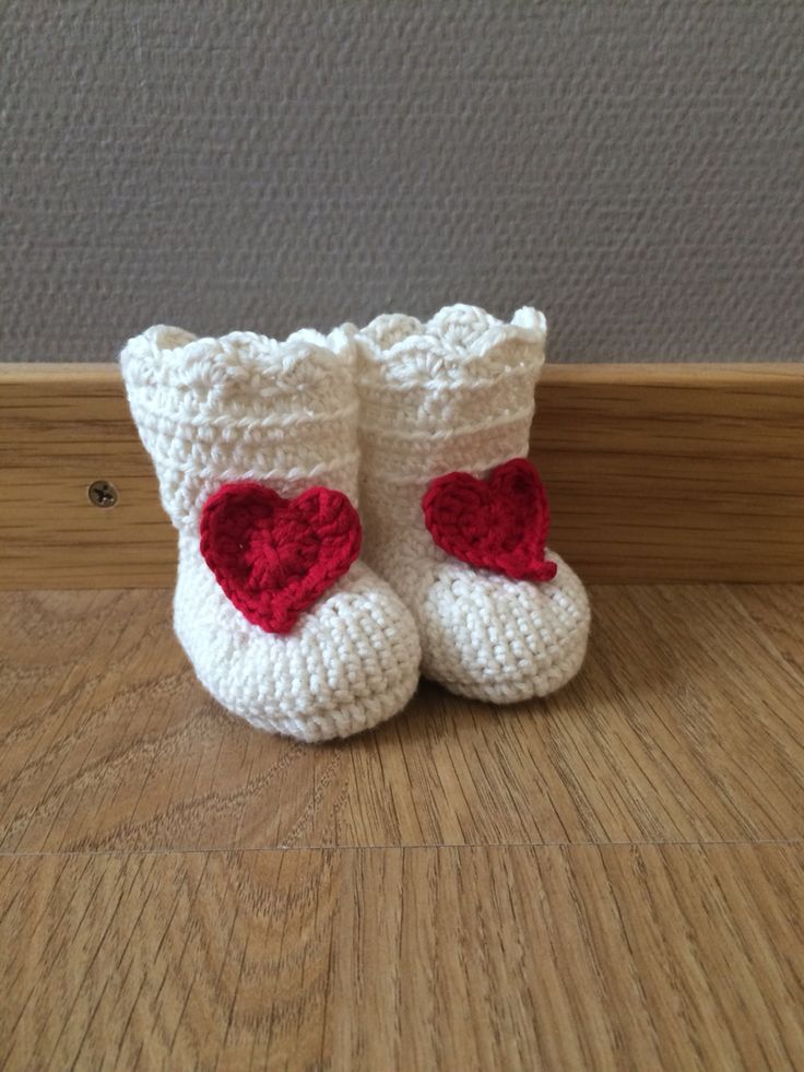 My first booties