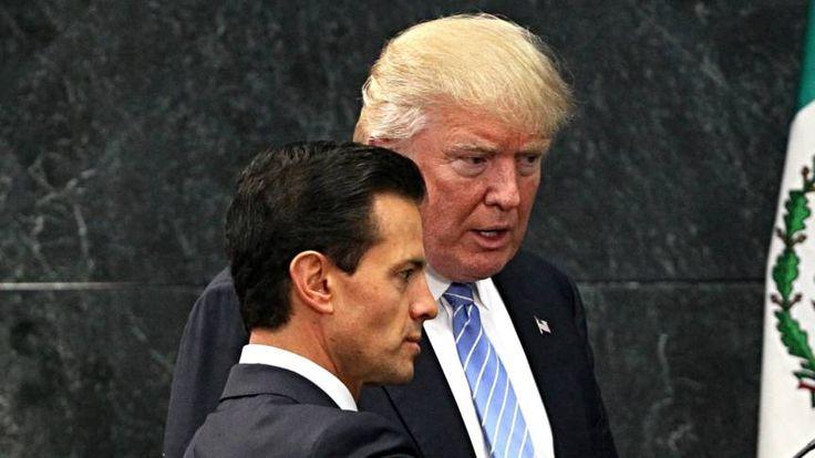 President Mexico schrapt bezoek aan VS door ruzie over muur | NOS