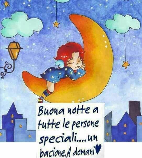 buonanotte alle persone speciali