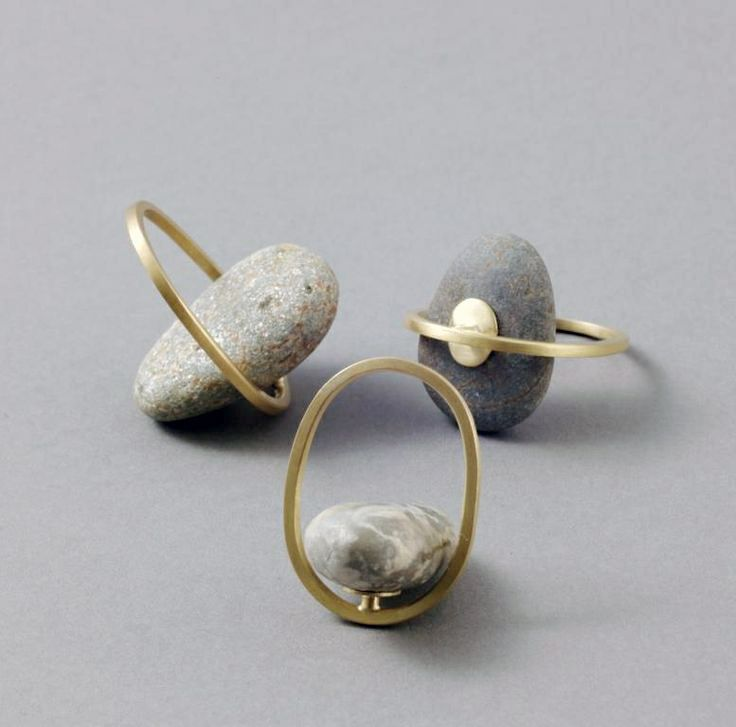 there's really no need to elaborate on   how beautiful these pieces are.     rings and bracelets   by millie behrens .   ...