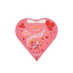 Lindt Lindor Valentine's Strawberries and Cream White Chocolate Truffles - 3.4oz