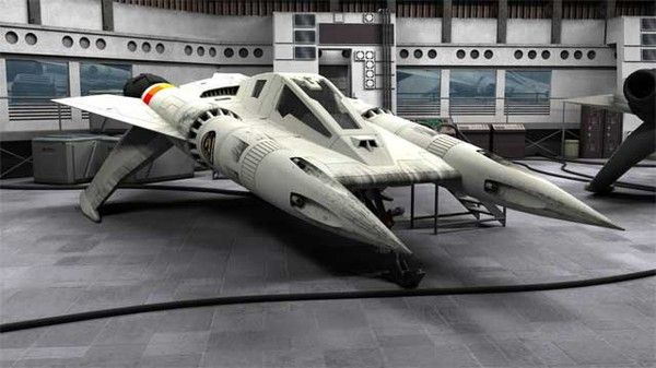I like this ship more than the viper when I was 11 - still do. From the Buck Rogers In The 25th Century archives
