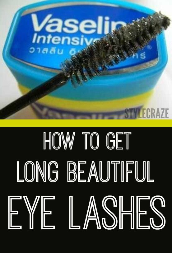 How to Get Long Beautiful Eye Lashes