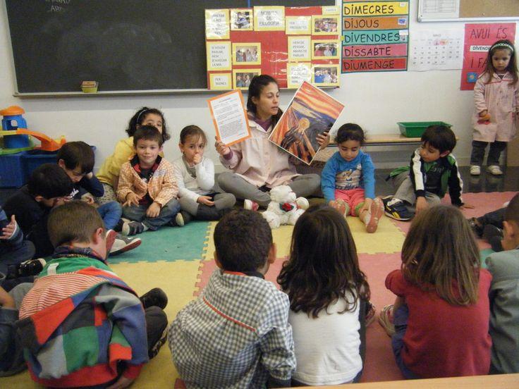 Percebre, sentir i pensar a l'escola infantil: EXEMPLE SESSIÓ DE FILOSOFIA 3/18: ART (EL CRIT, EDVARD MUNCH).