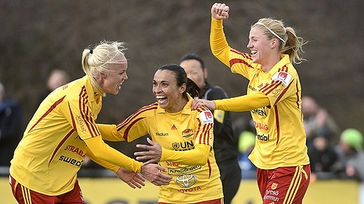 Tyresö FF - KIF Örebro 2012-04-09