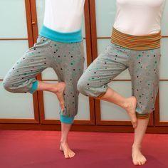 Yogahose/Jersey-mit-der-Naehmaschine-naehen_Yogahose nach einem Schnittmuster von leni pepunkt