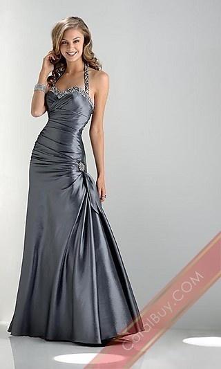 !: Long Dresses, Evening Dresses, Formal Dresses, Bridesmaid Dresses, Long Prom Dresses, Promdress, Dresses Prom, Grey Dresses, Halter Dresses