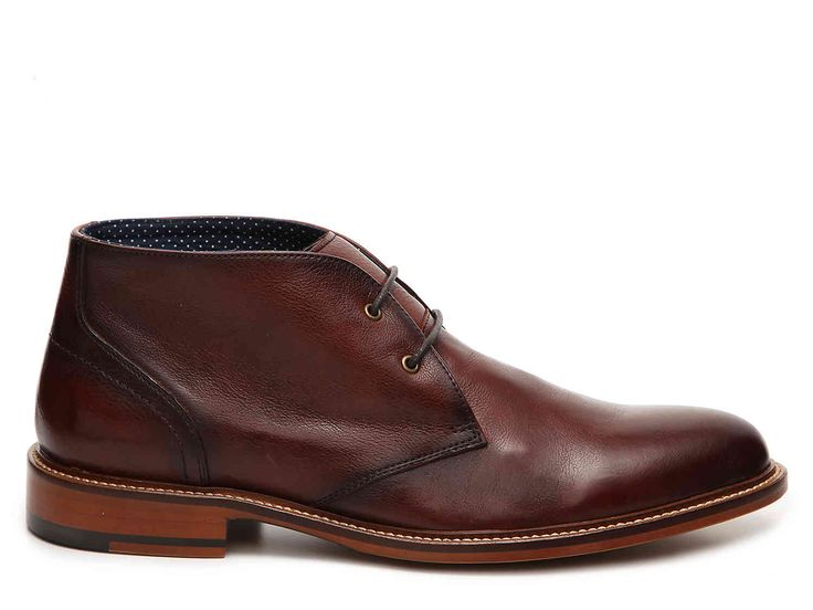 Aston Grey Leather Chukka Boot Men's Shoes | DSW
