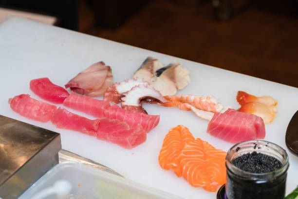 essential ingredients for sushi rolls workplace of sushi chef