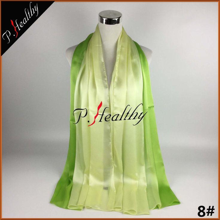 2017 Luxurious 100% Charmeuse Silk Bubble Silk Shawl Wrap Turban Hijab Scarf Headscarf Fashion Women Beautiful Hijab can52