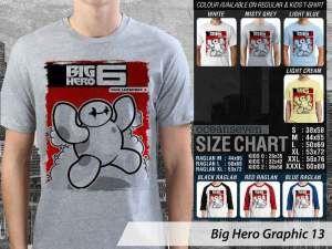 Kaos Big Hero 6 Animasi Terbaru, Kaos Big Hero 6 Lucu, Kaos Film Big Hero 6, Kaos Big Hero 6