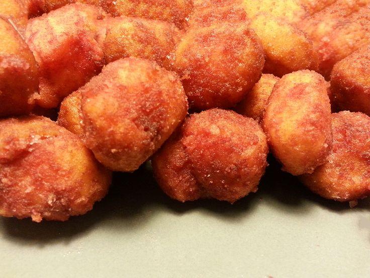 frittelle con alchermes #ricettedisardegna #cucinasarda #sardinia #recipe