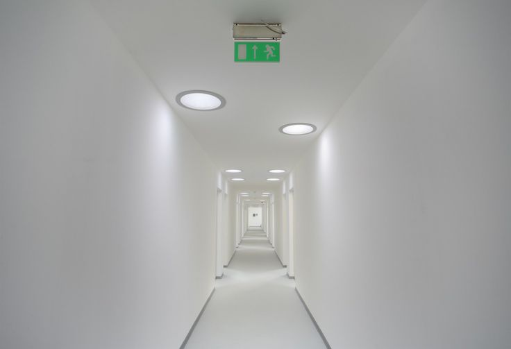 Velux sun tunnels in corridor brightening spaces with for Sun tunnel basement