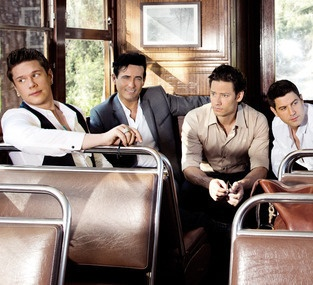 Il Divo, very good band! They are proffessional singers who put an operatic spin on different genres.