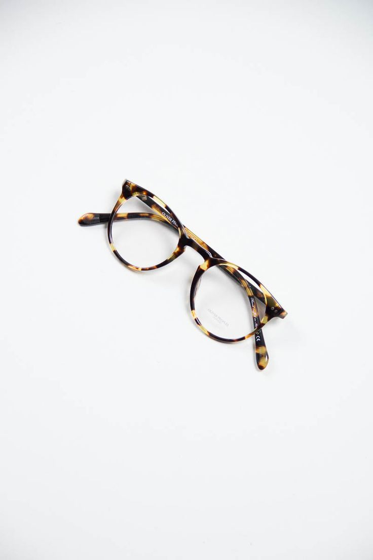 OLIVER PEOPLES Tortoise Glasses