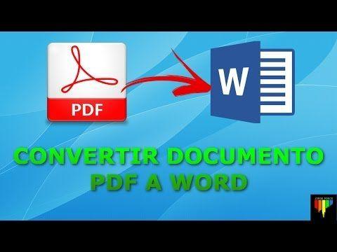 Como Convertir una Imagen ESCANEADA a Texto Word SIN Programas (Fácil) – YouTub…