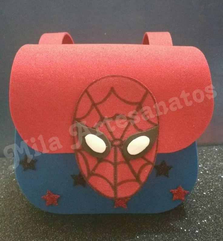 Mochila Homem Aranha Com 40 Un - R$ 183,60 em Mercado Livre