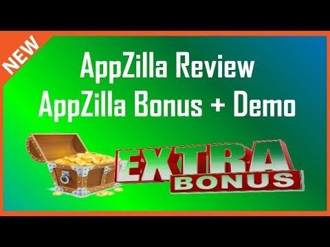 AppZilla Review | AppZilla Bonus + Demo - YouTube