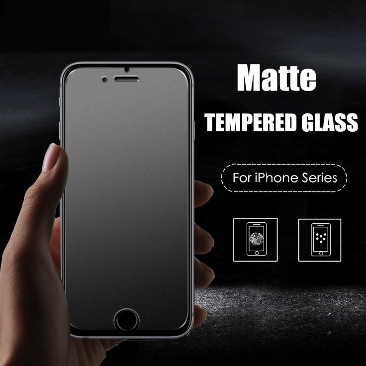 Screen Protectors 9H Frosted Tempered Glass Film For Apple iPhone 4 4S 5 5S SE 5C 6 6S 7 Plus Premium Matte No Fingerprint Glass Screen Protector <3 This is an AliExpress affiliate pin.  Click the VISIT button to enter the AliExpress website