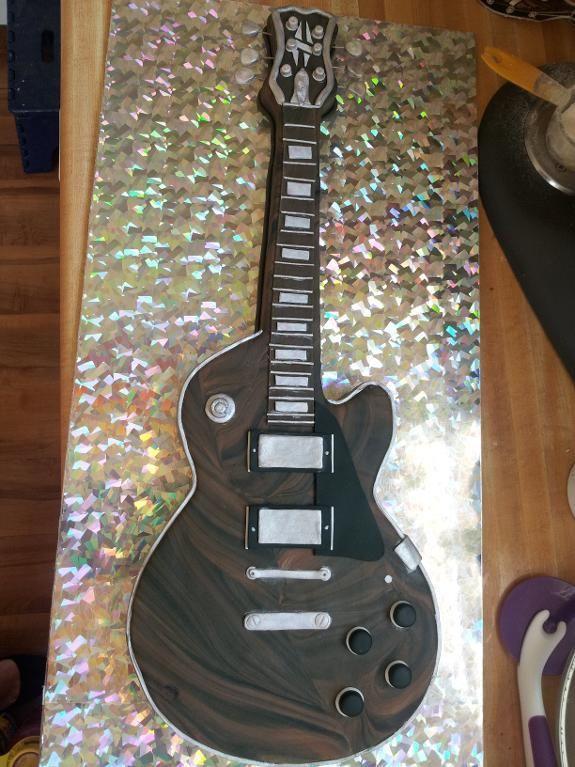 Guitar Birthday Cake project on Craftsy.com