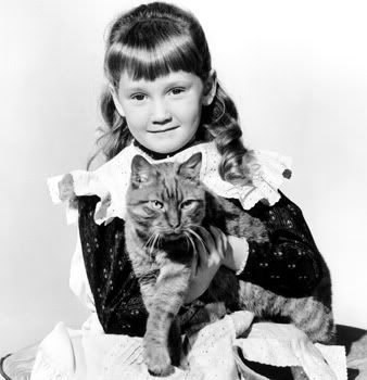 Karen Dotrice - famous for her roles in Thomasina and Mary Poppins.