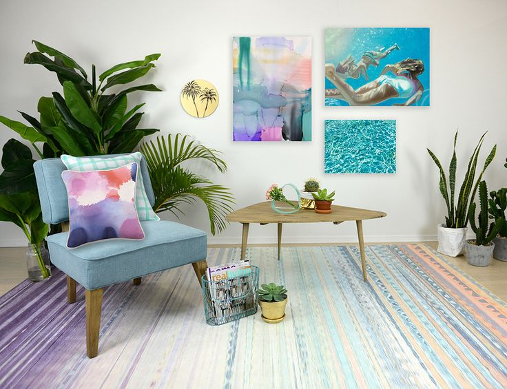 Don't you just love these colours? The Indigo Rug is also ideal for a girls room! Love it? Get it here: http://www.alcollections.com.au/indio-rug #rugs #decorating #home #styling