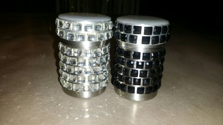 Glam Salt and pepper shakers