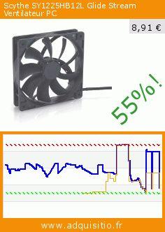 Scythe SY1225HB12L Glide Stream Ventilateur PC (Personal Computers). Réduction de 55%! Prix actuel 8,91 €, l'ancien prix était de 19,87 €. http://www.adquisitio.fr/scythe/glide-stream-ventilateur-0