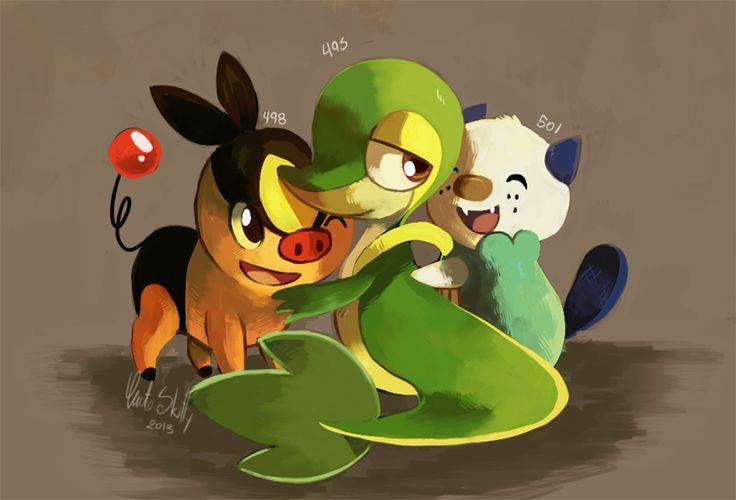 Pokémon by Cuteskitty.