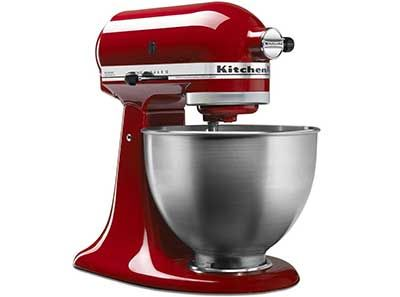 Enter For A Chance To Win A KitchenAid 5Qt. Classic Stand Mixer from DealMaxx.  Good luck! Ends January 20,  2017 CLICK HERE TO ENTER