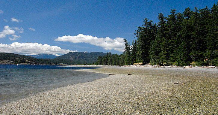 Rebecca Spit, Provincial Park, Quadra Island, British Columbia, Canada