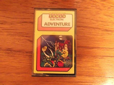 Adventure for the Acorn Electron.  Cassette Version.