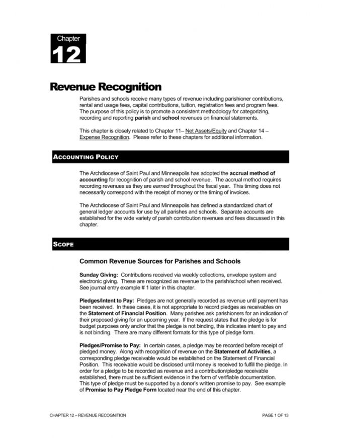 Get Our Example Of Revenue Recognition Policy Template For Free Policy Template Revenue Recognition