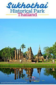 The ancient town of Sukhothai in Thailand was once capital of the country. It is now a historical park and UNESCO World Heritage Site that houses restored and unrestored ruins. It's rarely visited by other tourists, but is actually really easy to get to,