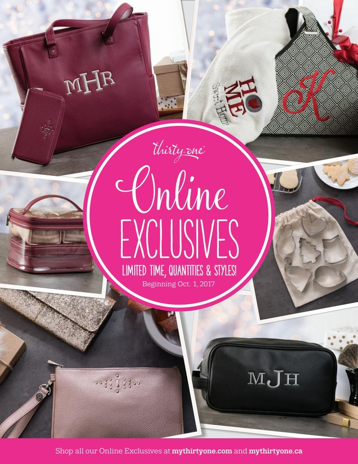 2017 Thirty-One Online Holiday Exclusive
