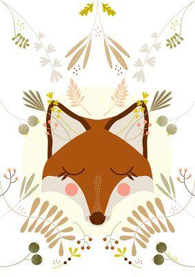 Fox / Renard | Mundobu: Ilustraciones