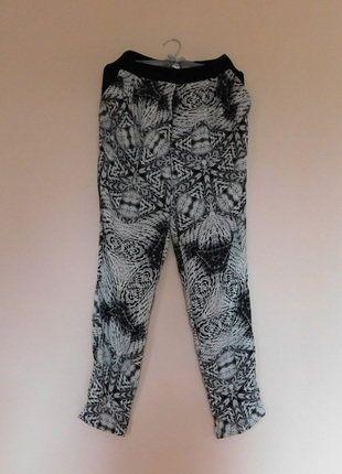 Kup mój przedmiot na #vintedpl http://www.vinted.pl/damska-odziez/spodnie-inne/17686158-river-island-spodnie-wysoki-stan-36