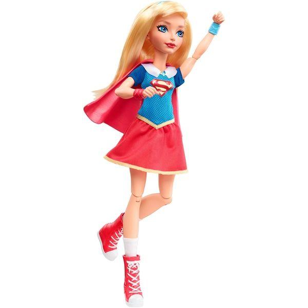 "Doll supergirl dc comics series /""super hero girls/"" mattel 30cm"